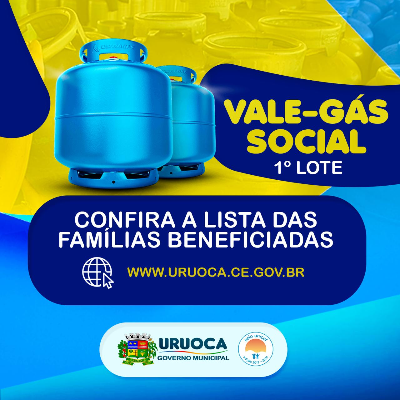 CONHEÇA AS FAMÍLIAS BENEFICIADAS COM O PROGRAMA VALE GÁS SOCIAL EM URUOCA