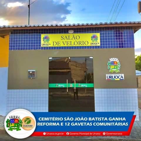 CEMITÉRIO SÃO JOÃO BATISTA É REFORMADO E REQUALIFICADO