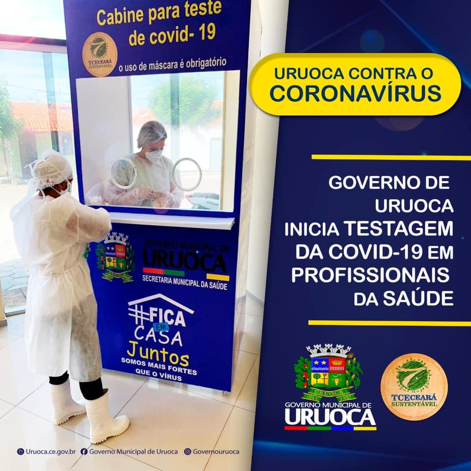 URUOCA CONTRA O CORONAVÍRUS