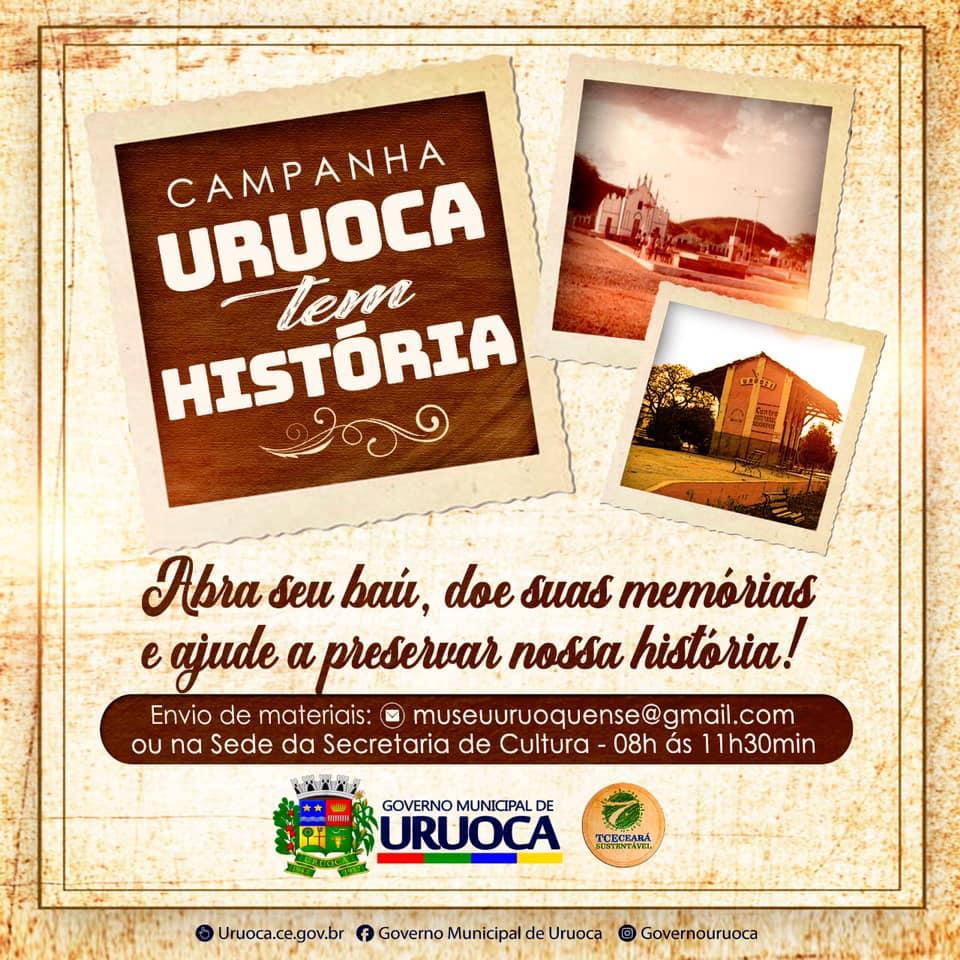 CAMPANHA URUOCA TEM HISTÓRIA