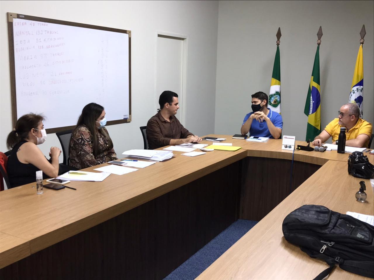 4ª Assembléia do CPSMIT de 2021 e visita às unidades Policlinica e CEO Regional de Itapipoca