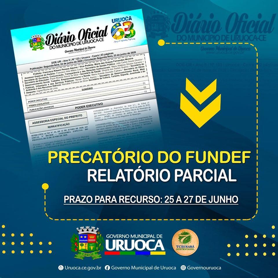 PRECATÓRIOS DO FUNDEF