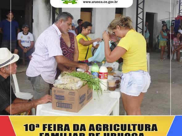COM PRESENÇA DO PREFEITO KILSEM, FEIRA DA AGRICULTURA FAMILIAR MOVIMENTA A MANHÃ DE DOMINGO EM URUOCA