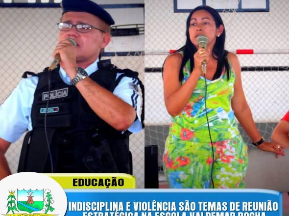 REUNIÃO ESTRATÉGICA - ESCOLA VALDEMAR ROCHA