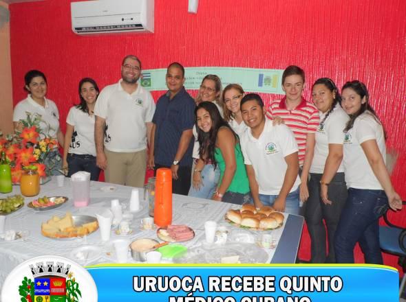 URUOCA RECEBE QUINTO MÉDICO CUBANO