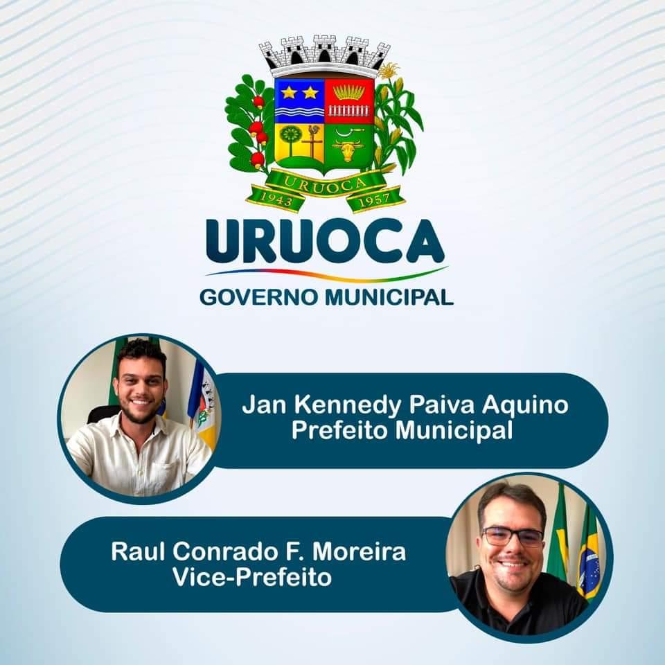 NOVA EQUIPE DE GOVERNO PARA A GESTÃO DO PREFEITO KENNEDY AQUINO