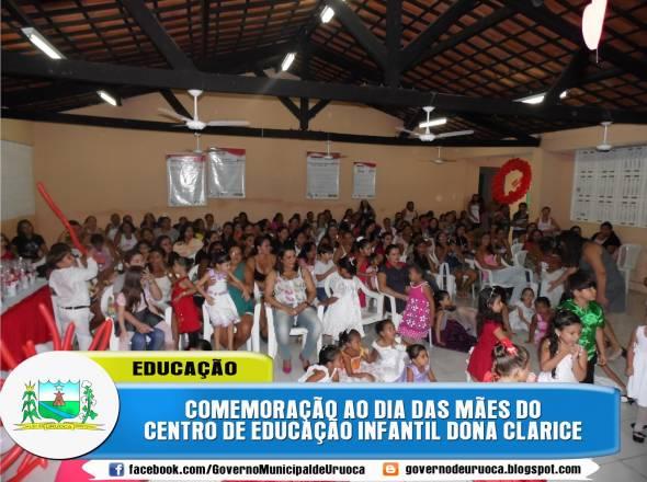 SECRETARIA DA EDUCAÇÃO COMEMORA O DIA DAS MÃES COM GRANDES HOMENAGENS