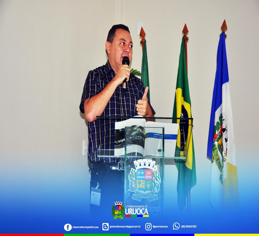 2018-2020: GOVERNO DE URUOCA PROMOVE ENCONTRO PARA ELABORAÇÃO DO PLANEJAMENTO ESTRATÉGICO