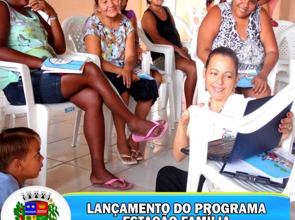 GOVERNO DE URUOCA LANÇA MAIS UMA EDIÇÃO DO PROJETO ESTAÇÃO FAMÍLIA