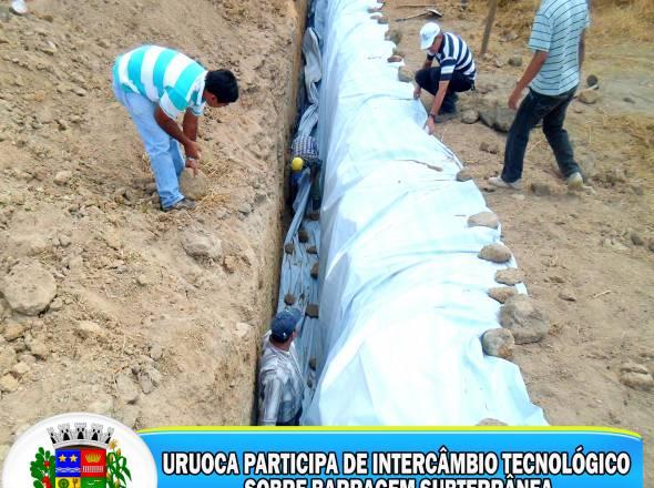 URUOCA PARTICIPA DE INTERCÂMBIO TECNOLÓGICO SOBRE BARRAGEM SUBTERRÂNEA