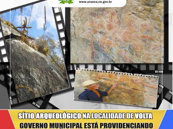 PRESERVAÇÃO DE SÍTIO ARQUEOLÓGICO NA LOCALIDADE DE VOLTA
