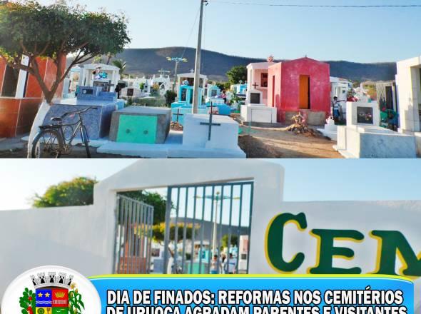 REFORMAS NOS CEMITÉRIOS DE URUOCA
