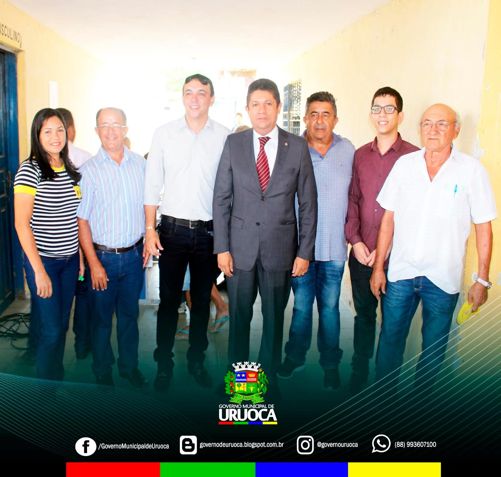 PREFEITO KILSEM PARTICIPA DE AUDIÊNCIA PÚBLICA SOBRE O ABASTECIMENTO DE ÁGUA EM URUOCA