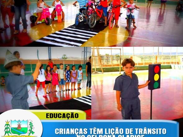 EDUCAÇÃO NO TRÂNSITO - CEI DONA CLARICE