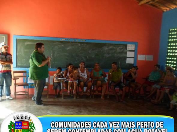PROG. ÁGUA PARA TODOS NAS COMUNIDADES URUOQUENSES