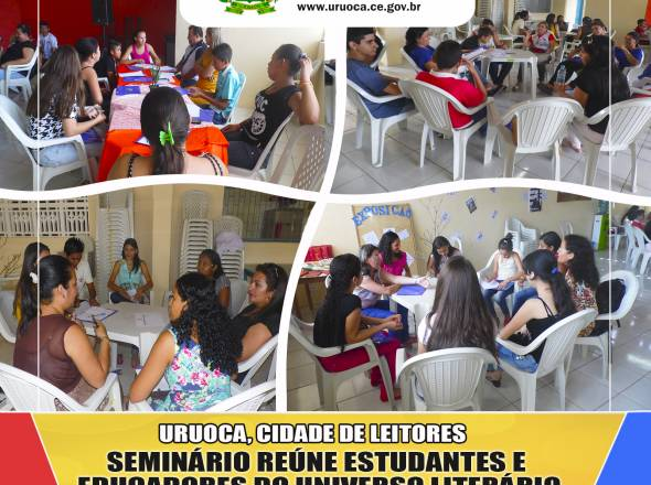 URUOCA, CIDADE DE LEITORES: SEMINÁRIO REÚNE ESTUDANTES E EDUCADORES DO UNIVERSO LITERÁRIO DE GRACILIANO RAMOS