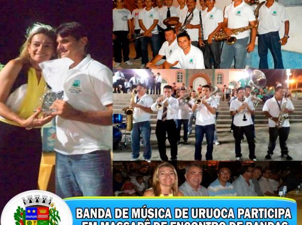 BANDA DE MÚSICA DE URUOCA PARTICIPA EM MASSAPÊ DE ENCONTRO DE BANDAS