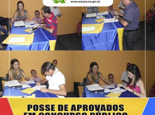 19 APROVADOS NO CONCURSO PÚBLICO DE 2012 SÃO EMPOSSADOS PELO PREFEITO KILSEM
