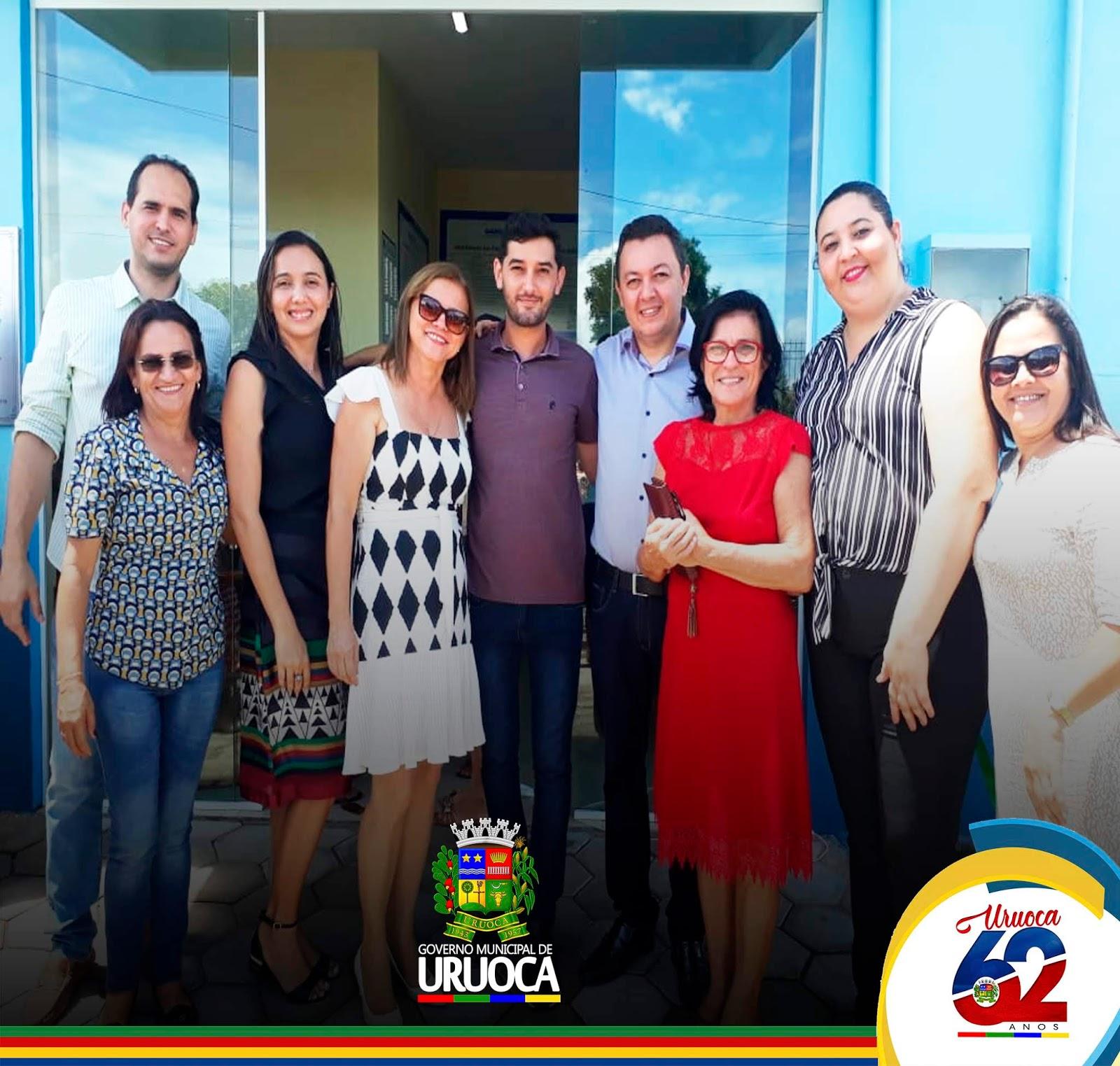 URUOCA 62 ANOS – MAIS SAÚDE PREFEITO KILSEM OFICIALIZA ENTREGA DE UBS JAN KEULY, EM CAMPANÁRIO